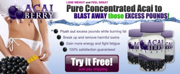 Get Your Free Trial of Acai Berry Blast!